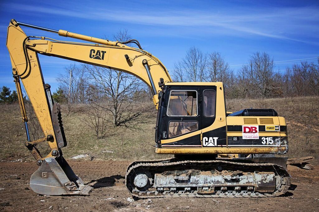 Cat 315 Backhoe