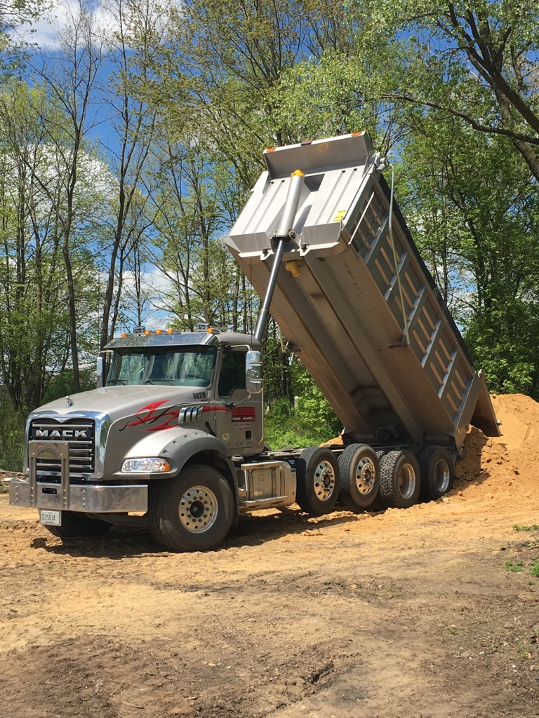 2015 Mack Quad-Axle Dump